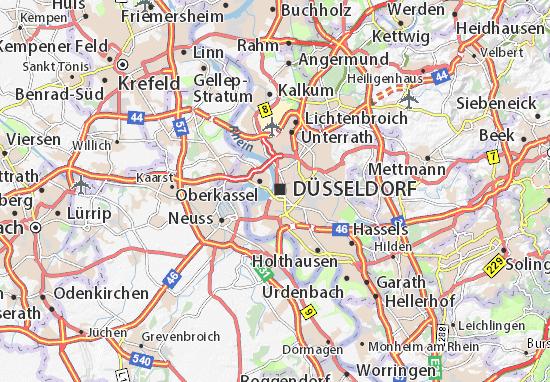 Karte Stadtplan Carlstadt