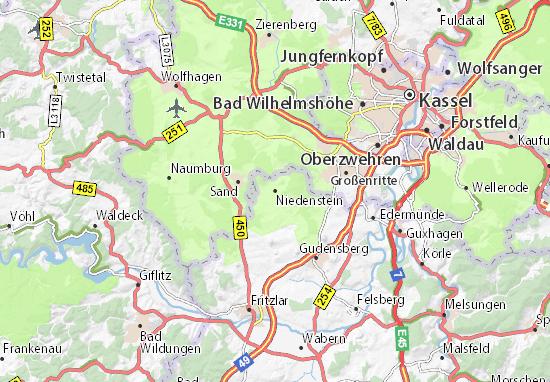 Niedenstein Map