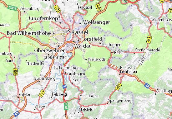 Wellerode Map