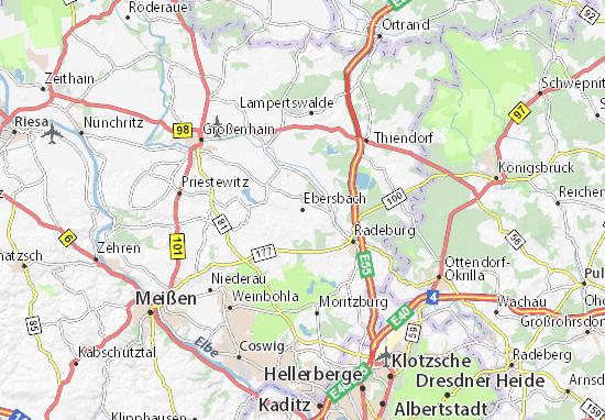 Mapas-Planos Ebersbach