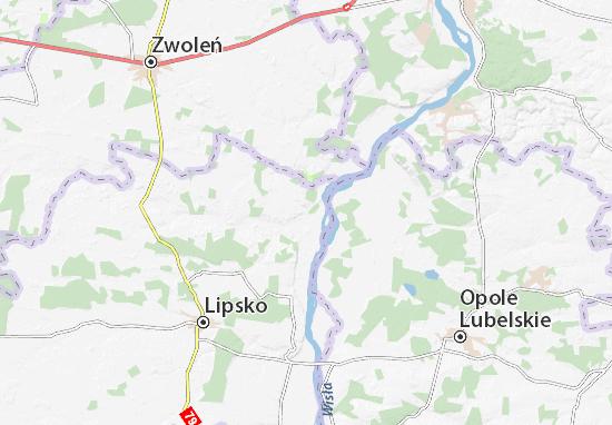 Carte-Plan Chotcza-Józefów