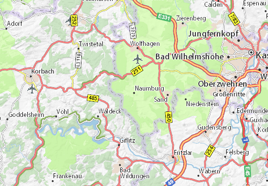 Naumburg Map
