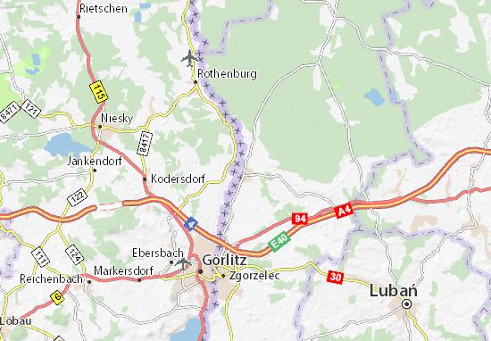Carte-Plan Pieńsk