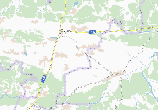 Mapas-Planos Rakivshchyna
