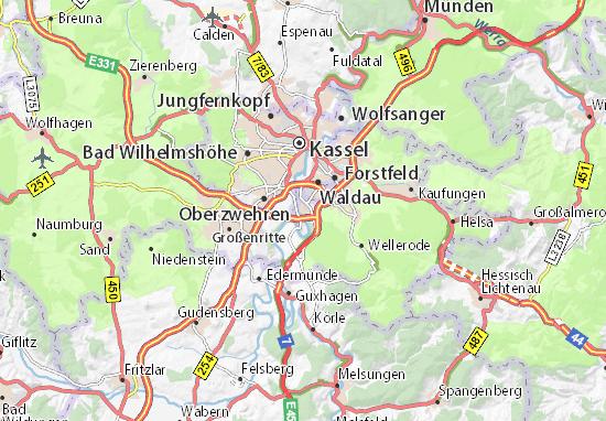 Carte-Plan Fuldabrück