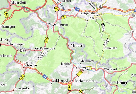 Bad Sooden-Allendorf Map