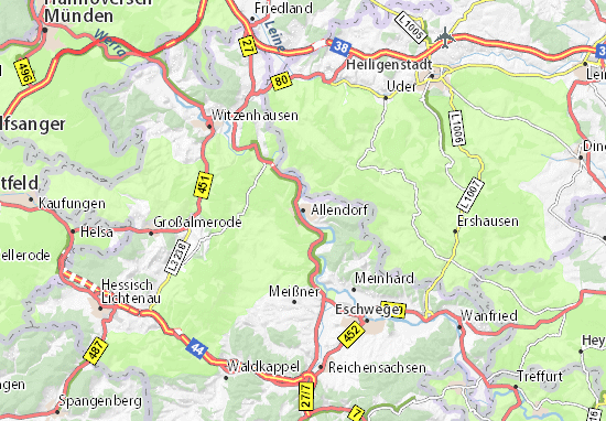 Carte-Plan Allendorf