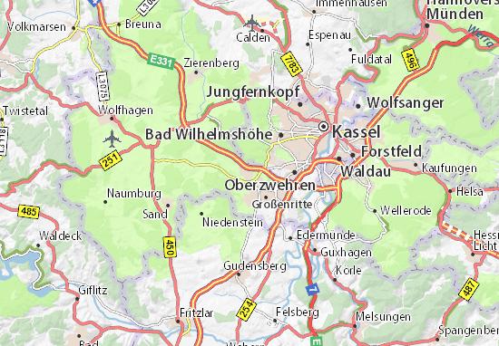 Schauenburg Map