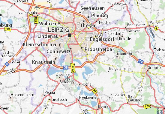 Wachau Karte.Karte Stadtplan Wachau Viamichelin