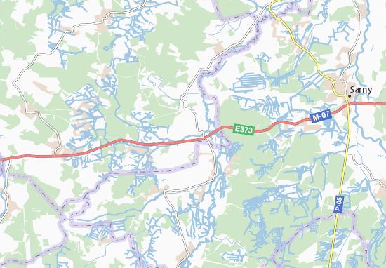 Mapas-Planos Horodets'