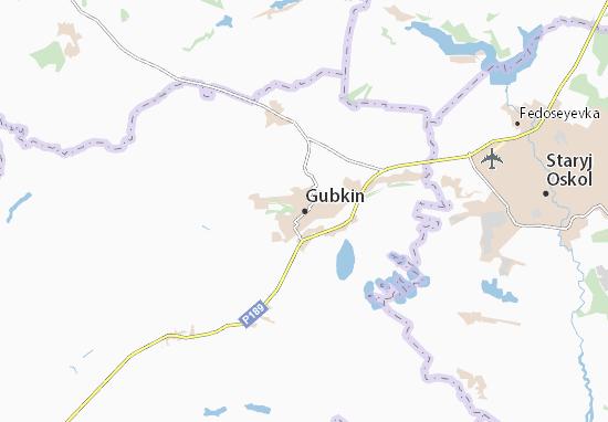 Carte-Plan Gubkin