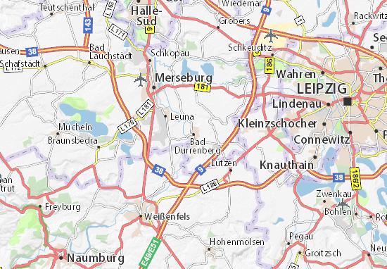 Bad Dürrenberg Map