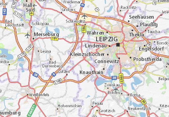 Karte Stadtplan Markranstädt