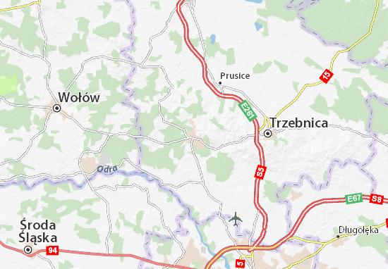 Mappe-Piantine Oborniki Śląskie