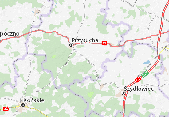 Carte-Plan Borkowice