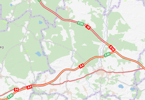 Osiecznica Map