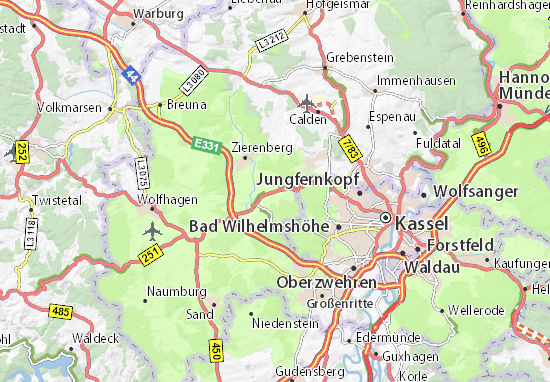 Carte-Plan Dörnberg