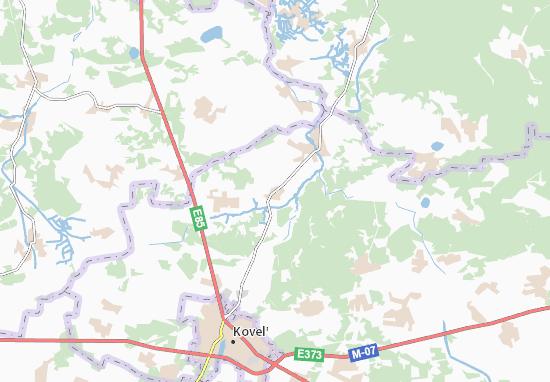 Mapa Plano Dorotyshche