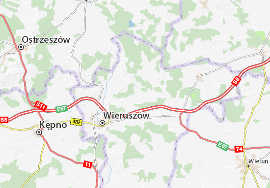 Galewice Map
