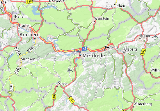 Mappe-Piantine Meschede
