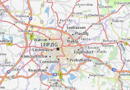 Karte Stadtplan Schönefeld