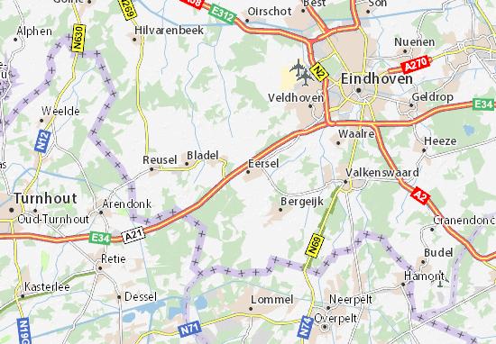 Mapas-Planos Eersel