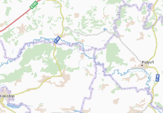 Carte-Plan Khyzhky