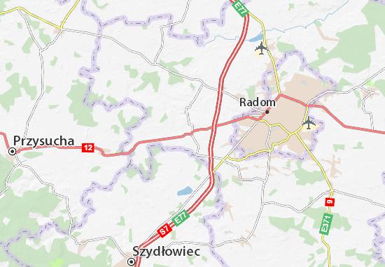 Carte-Plan Wolanów