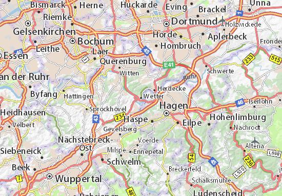 Karte Stadtplan Wetter