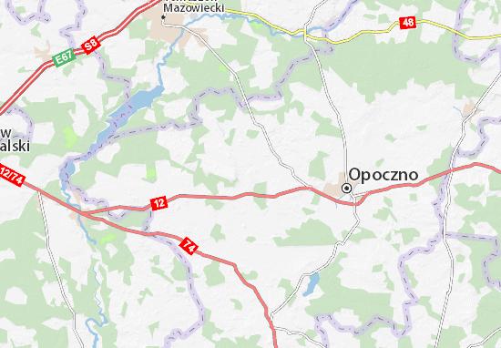 Carte-Plan Sławno