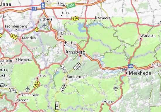Mappe-Piantine Arnsberg