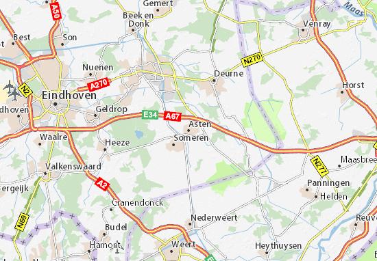 Asten Map