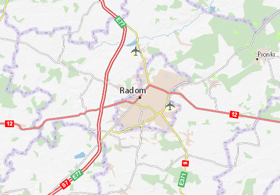 Carte-Plan Radom