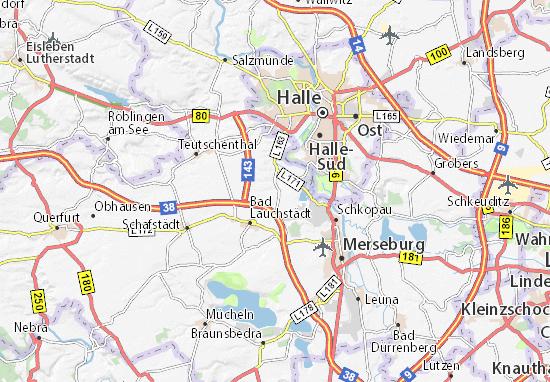 Delitz am Berge Map