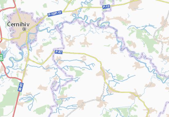 Mapas-Planos Vershynova Muraviika