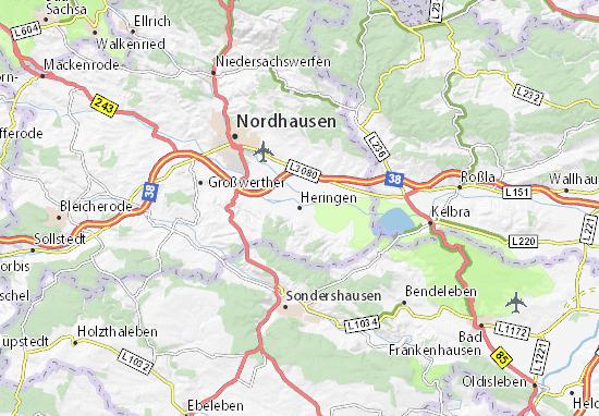 Heringen Map
