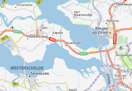 Carte-Plan Kruiningen