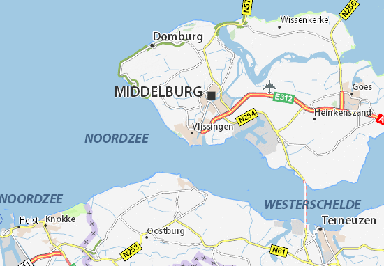 Mappe-Piantine Vlissingen