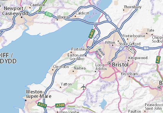 Image result for map of portbury bristol