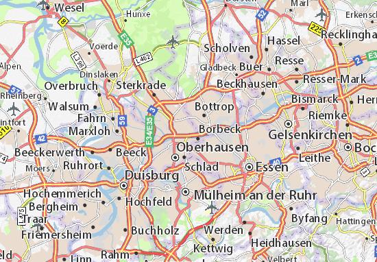 Carte-Plan Osterfeld