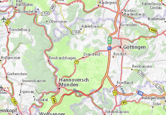 Dransfeld Map