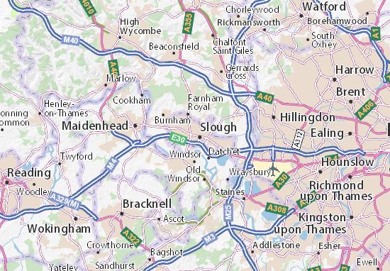 Mapas-Planos Slough