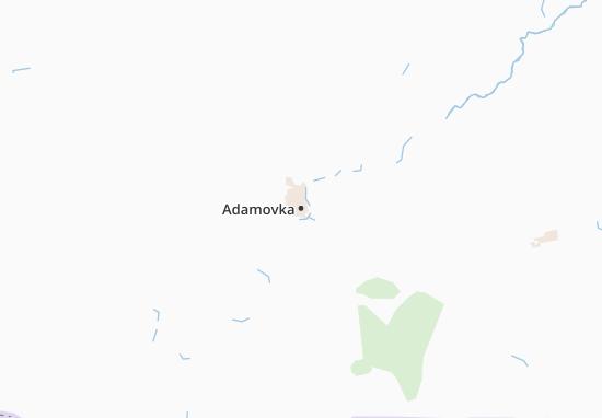 Carte-Plan Adamovka