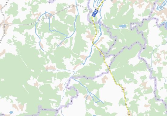 Carte-Plan Olenyne