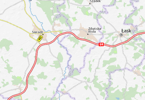 Zapolice Map
