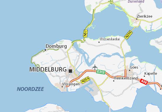 Veere Map