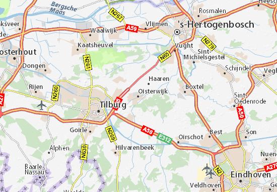 Carte-Plan Oisterwijk