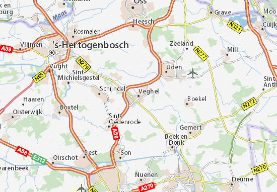 Veghel Map