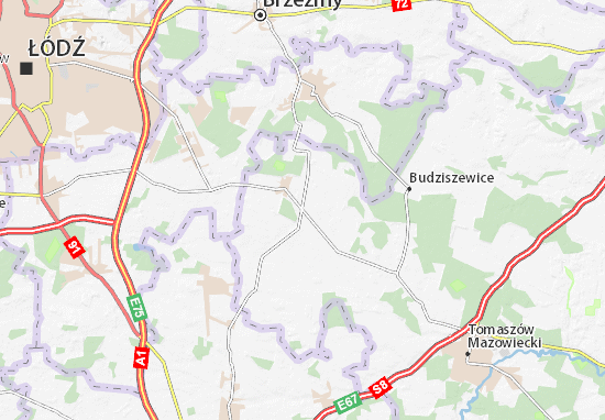 Mapa Rokiciny
