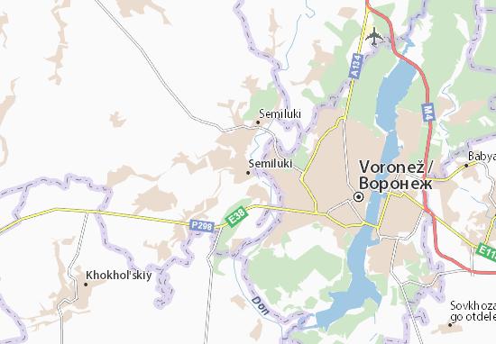 Semiluki Map